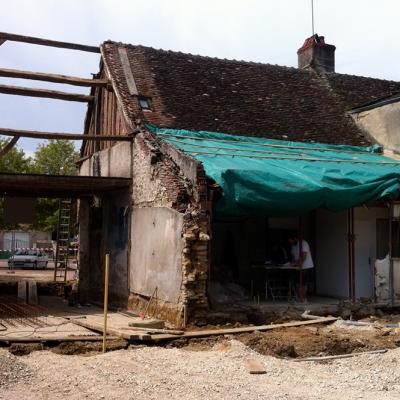 6 Dad Guenot Place Carnot Demigny Demolition