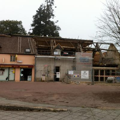 8 Dad Guenot Place Carnot Demigny Demolition